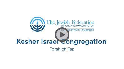 Kesher Pitch Video with Play Button